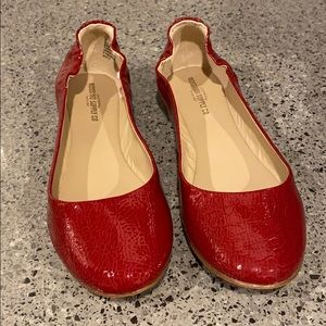 NIB Mossimo Supply Co Red Ballet Flats